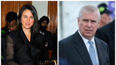 Mujer vista con el príncipe Andrew en la casa de Epstein identificada como hija de un exfuncionario