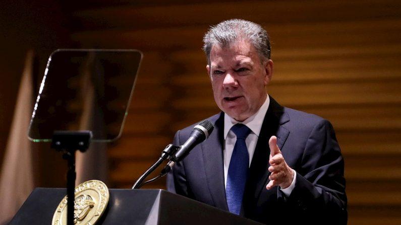 El expresidente colombiano Juan Manuel Santos. EFE/Mauricio Dueñas Castañeda/Archivo