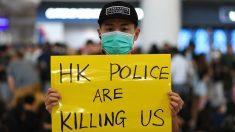 Aeropuerto internacional de Hong Kong cancela vuelos por la multitud de manifestantes en la terminal