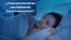 ¿Crees que dormir en una habitación fría es bueno para tu salud? Esto opinan los doctores