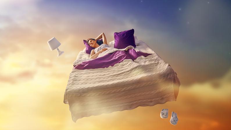 Sueño o viaje dimensional. Imagen ilustrativa. (Yuganov Konstantin/Shuttersock)