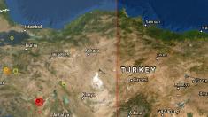 Sismo de 5,8 grados en Turquía azota la región de Denizli y Bozkurt