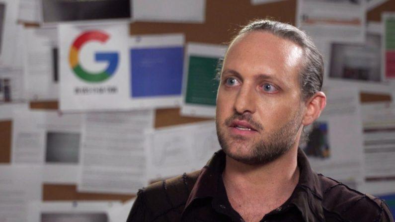 El exingeniero de software de Google, Zach Vorhies. (Cortesía del Proyecto Veritas)