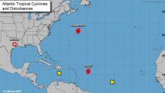 Formación de seis tormentas tropicales simultáneas en el Atlántico y el Pacífico marcan un récord