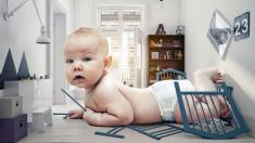 Después de un duro trabajo de parto dio a luz un bebé tan grande que rompió el récord del hospital