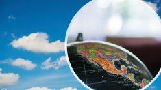 Fotografían una nube con forma de México en vísperas del aniversario de la independencia
