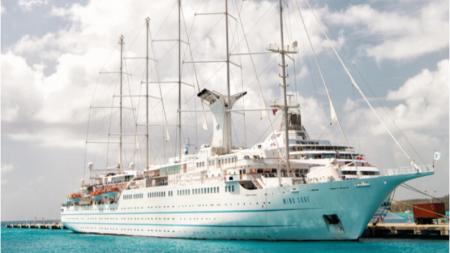 """Primera capitana negra en la industria de cruceros logra su sueño: """"Si yo lo hice, tú también puedes"""""""