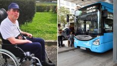 Motorista de ônibus coloca todos os passageiros para fora após eles se recusarem a abrir espaço para cadeirante