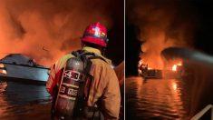 Mueren 34 personas en incendio de un barco en el condado de Ventura, California