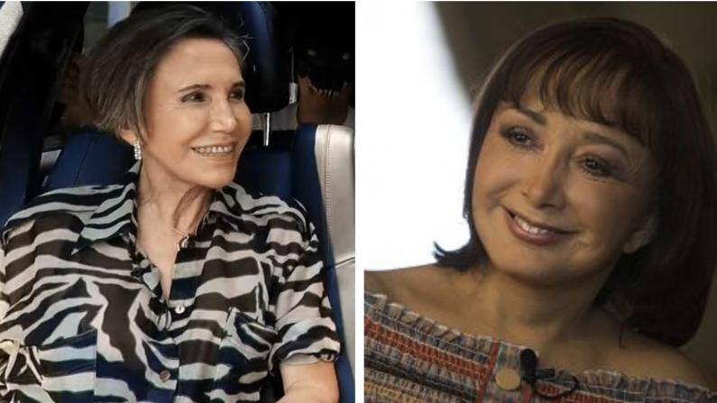 Florinda Meza (PelucheEn ElEstuche, CC) y María Antonieta de las Nieves (CC BY-SA 2.0)