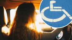 Fue señalada como farsante por estacionarse en el área de discapacitados sin conocer su dura realidad