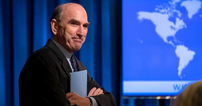 El enviado especial de Estados Unidos para Venezuela, Elliott Abrams. (EFE/Erik S. Lesser/Archivo)