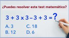 ¿Eres lo bastante inteligente para resolver este problema matemático? La mayoría falla en el intento