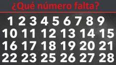 Desafío de 60 segundos: ¿Qué tan rápido puedes encontrar el número faltante en estos 6 rompecabezas?