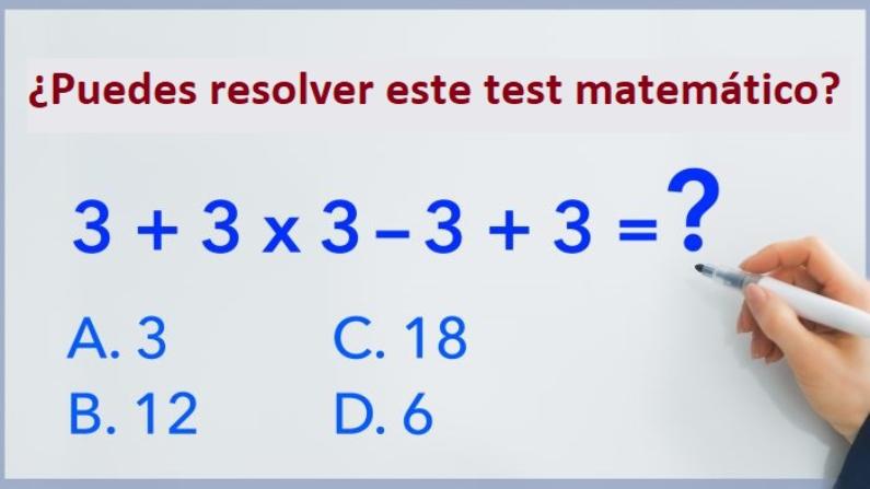 Eres Lo Bastante Inteligente Para Resolver Este Problema Matematico La Mayoria Falla En El Intento Problema The Epoch Times En Espanol