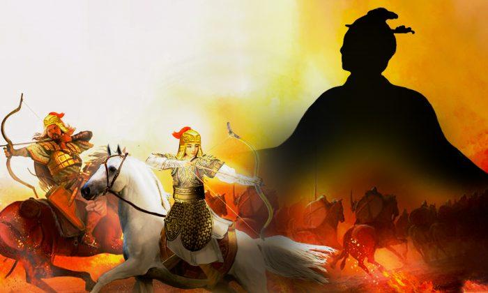La reina fue el primer general en la historia escrita de China en aplicar tácticas de emboscada en la guerra. (NTD)