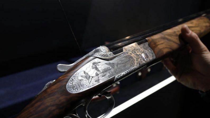 Imagen de archivo de un rifle de caza. Italia. (Marco Di Lauro/Getty Images)