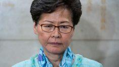 """""""Si tuviera opción, lo primero sería renunciar"""", revela Carrie Lam frente a la crisis en Hong Kong"""