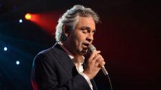 El tenor italiano Andrea Bocelli tuvo el virus del PCCh y dona su plasma para la investigación