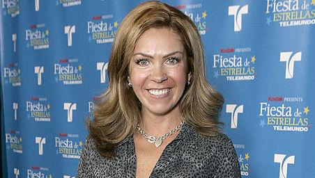 Rocío Sánchez Azuara posa en la Fiesta De Estrellas Telemundo en Universal Studios, el 12 de noviembre de 2005 en Los Ángeles, California. (Getty Images)