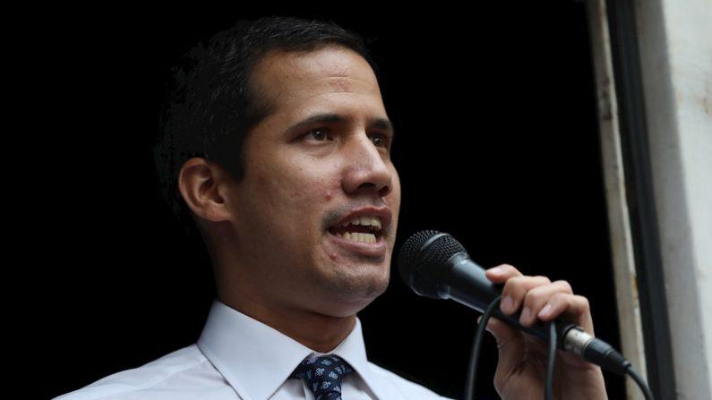 Na foto, o presidente interino da Venezuela, Juan Guaidó (EFE / Rayner Peña / Arquivo)