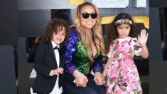 Los gemelos de Mariah Carey ya crecieron y su madre trata de mantenerlos con los pies en la tierra
