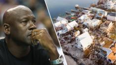 Michael Jordan promete 1 millón de dólares para ayudar a víctimas del huracán Dorian en las Bahamas