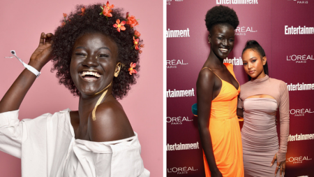 """Modelo fue acosada en la escuela como """"la chica más negra"""" y ahora es toda una inspiración en redes"""