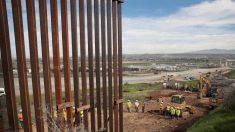El muro fronterizo debería llevar 100 millas contruídas al final del año