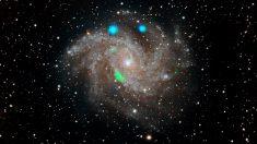 Aparece y desaparece una luz verde de rayos X súperluminosos en el espacio, sorprendiendo a los astrónomos