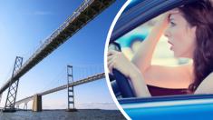 Este puente es tan atemorizante que los conductores lo piensan dos veces antes de cruzar