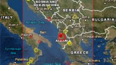 Sismo en Albania deja más de 100 heridos y medio millar de casas y edificios dañados.