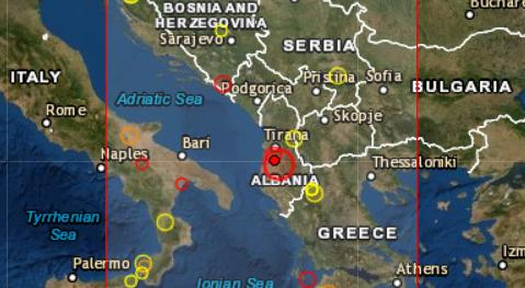 Terremoto en Albania (Wikimedia)