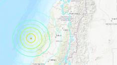 Terremoto en Chile de 6,6 grados sacude el centro del país