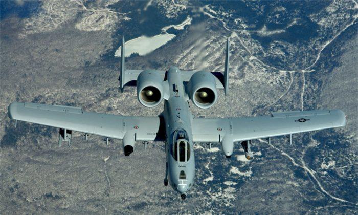 A-10 Thunderbolt II (U.S. Air Force photo/Staff Sgt. Melanie Norman)