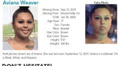 Fotos de adolescente desaparecida en Nueva Jersey aparecen en sitios web de tráfico sexual, dice mamá