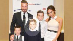 Romeu, filho de David e Victoria Beckham, mostra que ter epilepsia não é um impedimento para ser feliz.