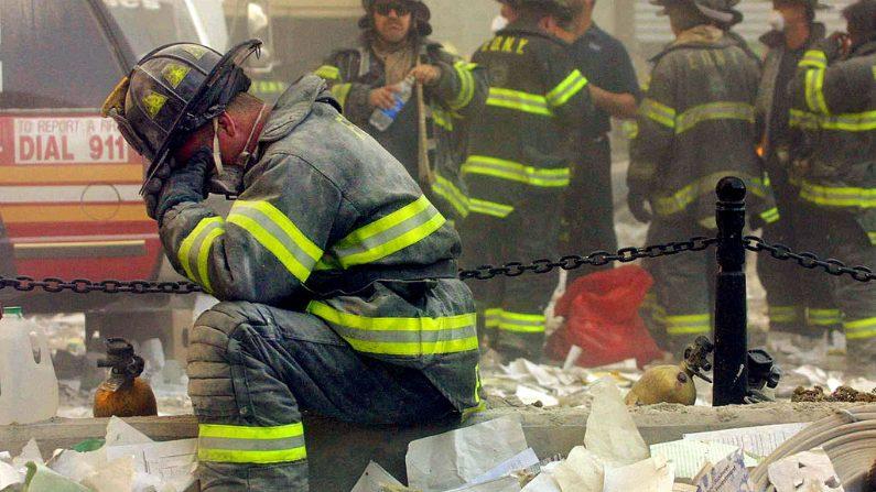 Atentado del 11 de septiembre. Imagen ilustrativa. (Mario Tama/Getty Images)