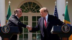 """""""Ele é um bom homem"""", diz Donald Trump sobre Bolsonaro na ONU"""