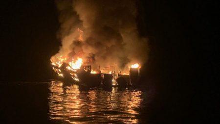 Se cree que una bióloga y una niña están entre los fallecidos del barco incendiado en California