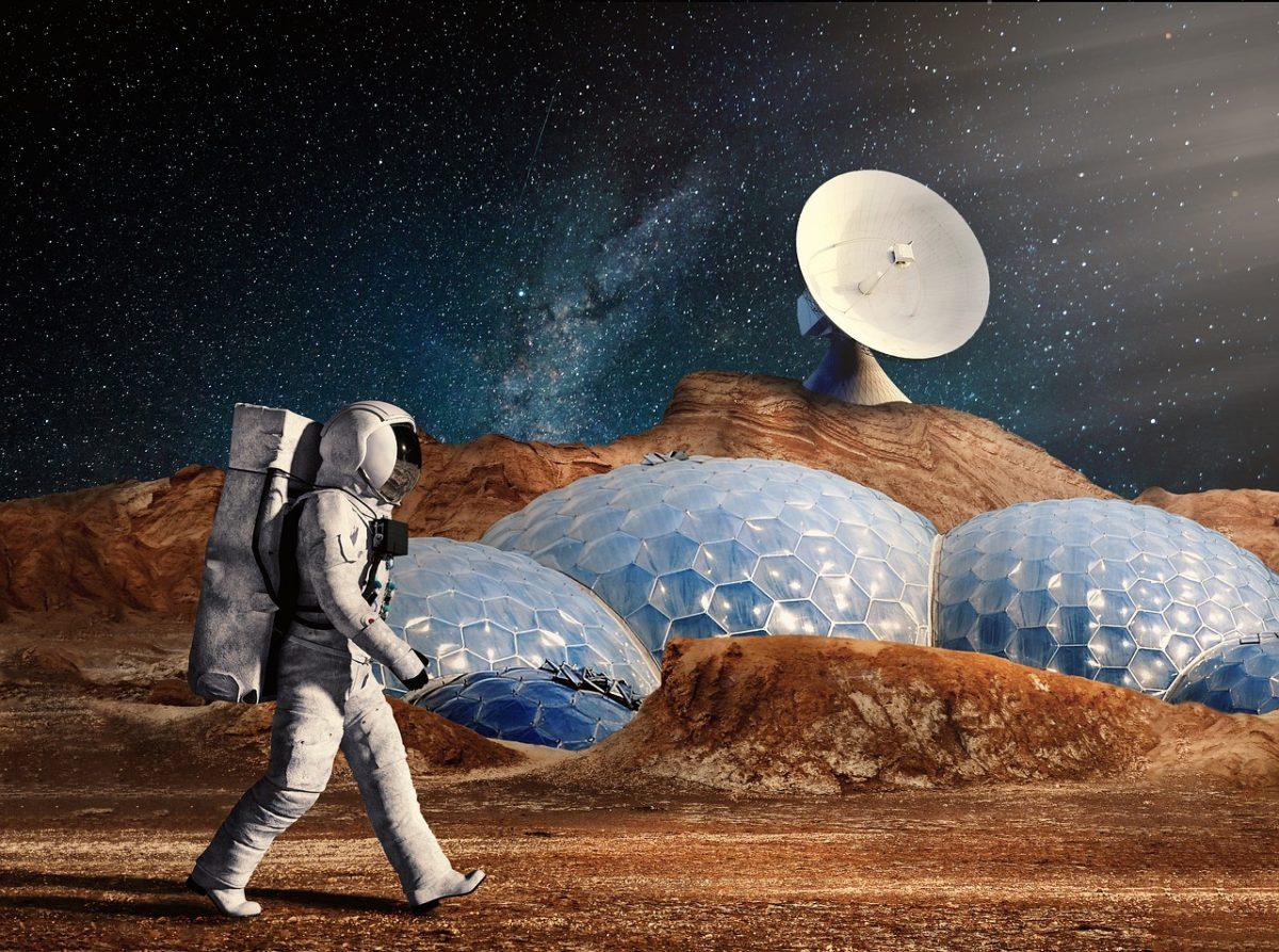Un ex marino declaró que sirvió en una misión espacial en Marte para proteger a 5 colonias de seres humanos de los aliens en el planeta rojo. Imagen ilustrativa (Crédito: simisi1 en Pizabay)
