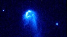 Observan estrella fugitiva que escapa de un agujero negro en los bordes de la galaxia