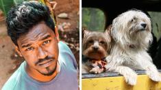 """Ahorra dinero durante 10 años para comprar una """"ambulancia de mascotas"""" y rescatar perros callejeros"""