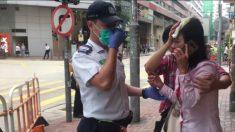 Un legislador y una practicante de Falun Dafa fueron agredidos en ataques de pandilleros en Hong Kong