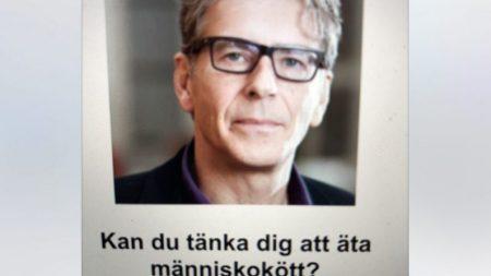 Pesquisador sueco propõe comer carne humana em resposta às mudanças climáticas