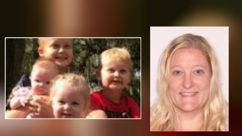 Casei Jones y los niños desaparecidos. (Oficina del Sheriff del Condado de Marion)
