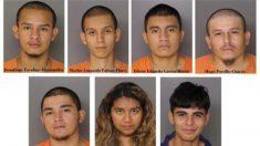 6 inmigrantes ilegales miembros de la MS-13 son apresados por participar de un apuñalamiento fatal