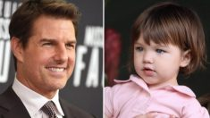 Suri, a linda filha de Tom Cruise e Katie Holmes, já tem 13 anos e é a cara do seu famoso pai