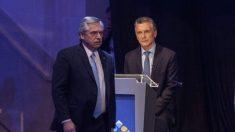 Macri e Fernández confrontam diferenças diante da crise na Venezuela durante o debate presidencial na Argentina