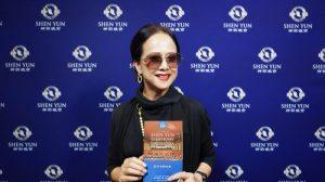 Cantante taiwanesa se maravilla ante el 'deleite de belleza' del concierto de Shen Yun